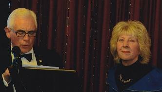Ian Small and Carolyn Spooner